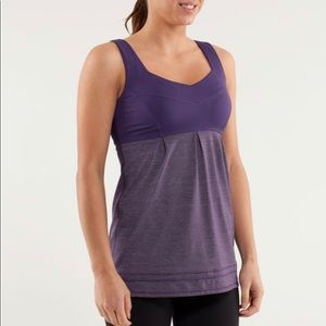Lululemon Tame Me Tank in size 8